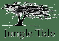 Jungle Tide black and white logo