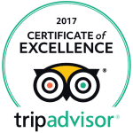Jungle Tide Guest House Trip Advisor Certificate of Excellence 2017
