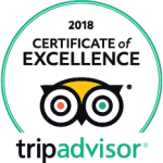 Jungle Tide Guest House Trip Advisor Certificate of Excellence logo