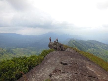 Hikes from Jungle Tide include the incredible Pig Rock - view from the top!