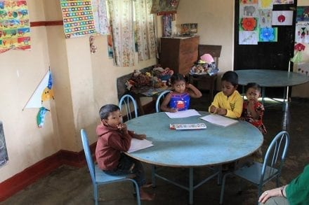 You can visit a local Sri Lankan village school while staying at Jungle Tide Guest House