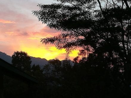 Jungle Tide Guest House near Kandy has amazing views across the Knuckles ranges